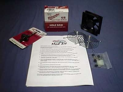 CaseETC 92mm blowhole kit