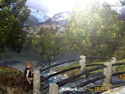 3DMark 2001 screenie