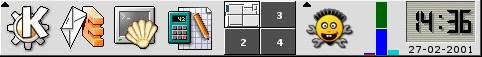 KDE Taskbar