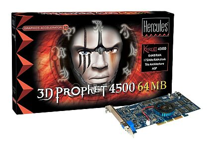 Hercules 3D Prophet 4500 kaart & doos
