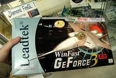 Leadtek GeForce3 doos