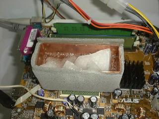 Koelbakje op 2,6GHz Pentium 4