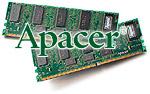 Apacer logo met DIMM