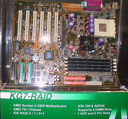 CeBIT 2001 - Abit KG7-RAID