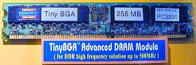 Kingmax PC3200 DDR module