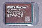 AMD Duron 900 core (klein)