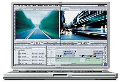 Apple Titanium Powerbook G4 (groot)