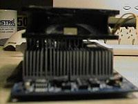 GeForce2 Ultra met heatsinkje