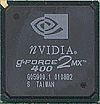 nVidia GeForce2 MX400 chip