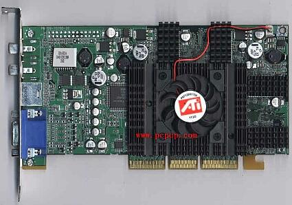 ATi Radeon SE sample (front)