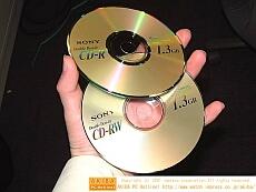 Sony double-density cd-r(w)