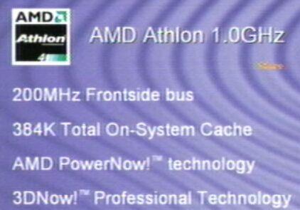 AMD Athlon 4 presentatie   sheet