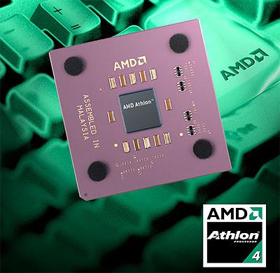 AMD Athlon 4 perspic met toetsenbord bg en  logo