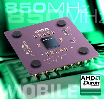 AMD Mobile Duron 850MHz