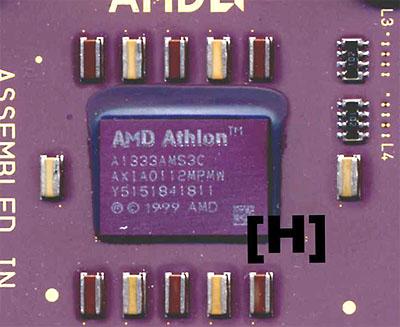 Geremarkte 1,33GHz AMD  Thunderbird