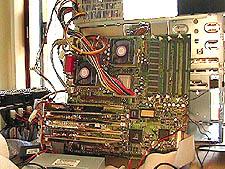 Dual Athlon / Tyan Thunder K7 systeem