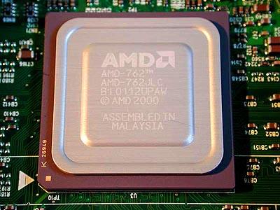 AMD 760MP / 762 northbridge (groot,  HQ)