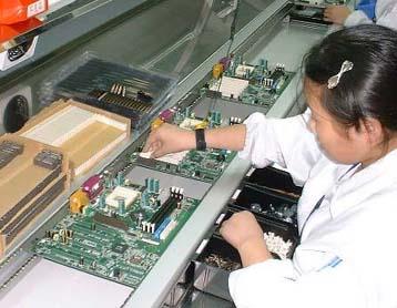 MSI China Fabriek verslag mobo knutsel