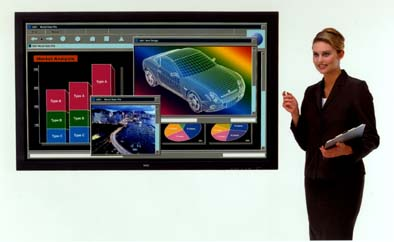 Nec 61-inch plasma scherm