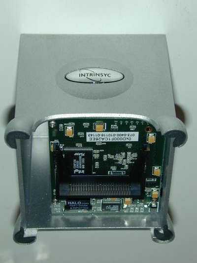 Intrinsyc CerfCube onderkant (CerfBoard)
