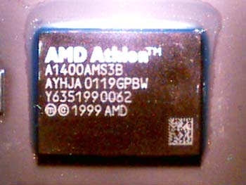 AMD Athlon AYHJA stepping