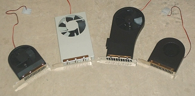 PCI slot koelers