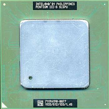 Pentium III-S 1,13GHz (Tualatin) groot