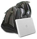 Apple iBook met rugzak