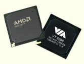AMD 760 vs. VIA KT266