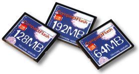 Dane-Elec CompactFlash kaartjes