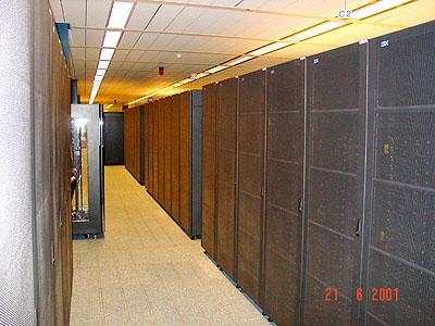Genesis cluster - Genesis kabinetten