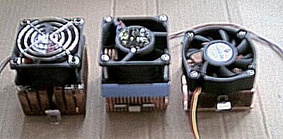 Koperen koelers