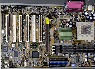 DDR chipset roundup - Asus CUSL2 foto