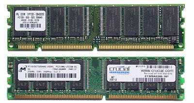 SDRAM en DDR SDRAM