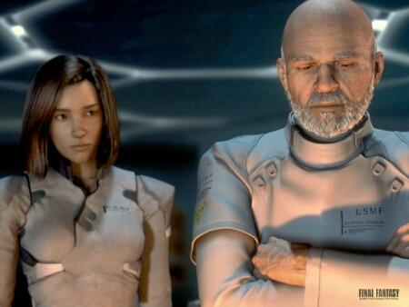 Final Fantasy: Aki Ross & Doctor Sid