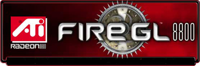 ATi Fire GL 8800 logo/banner