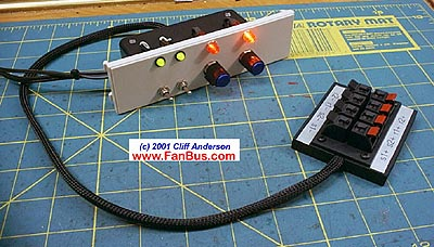 Cliff's Baybus: dual switch - dual Rheostat