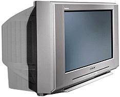 TV met normale vs. gehalveerde beeldbuisdiepte