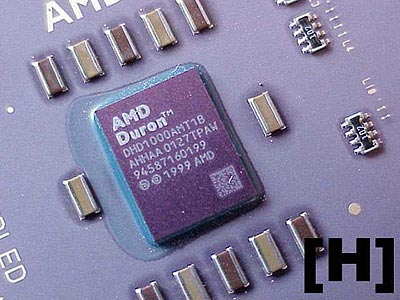 AMD 1GHz Duron (Morgan core)