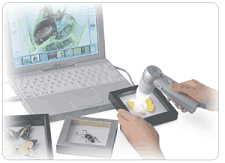 The ProScope plus laptop