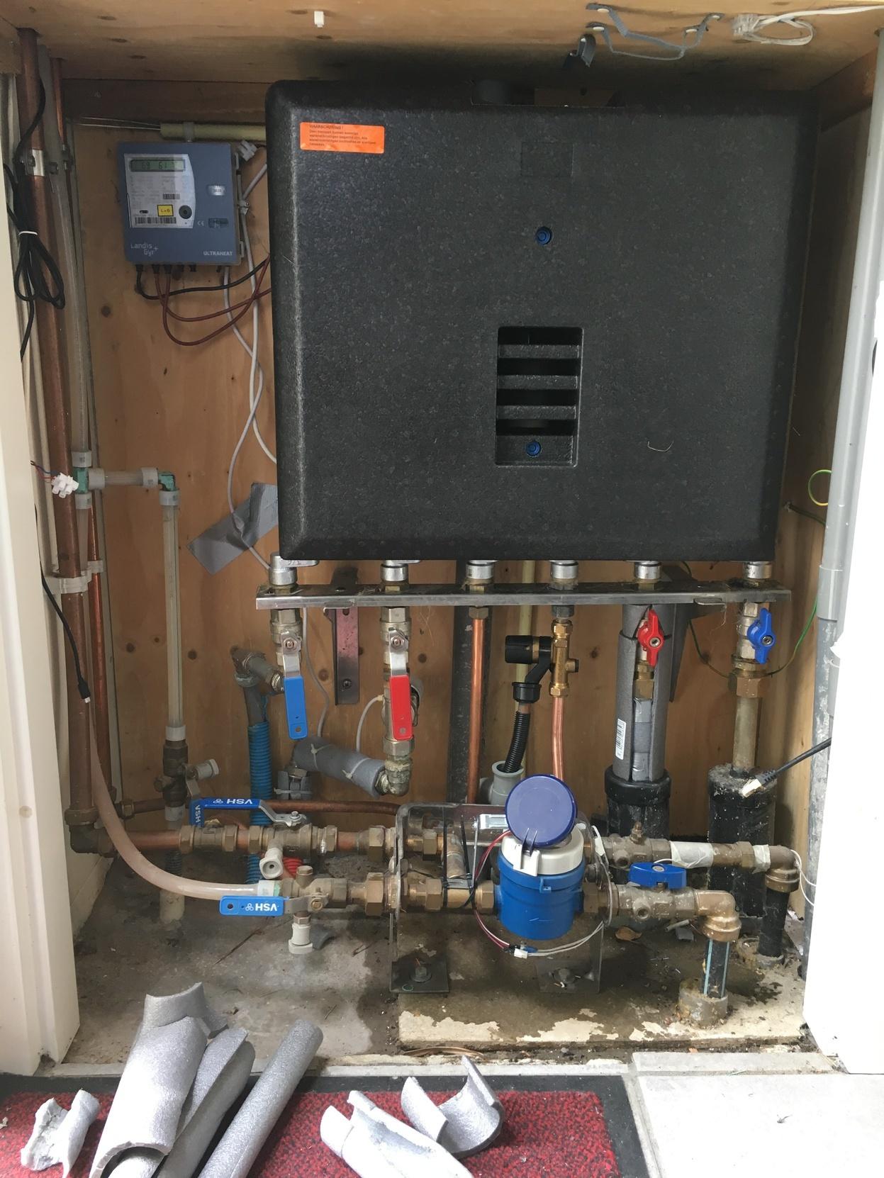 New 2020 Eneco district heating heat exhanger