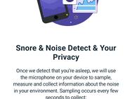 Fitbit snoring detection