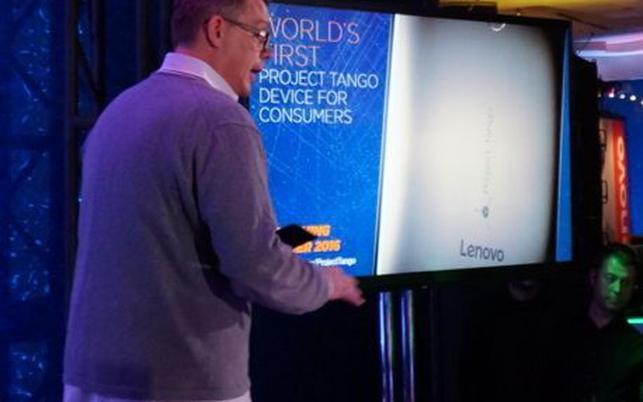 Lenovo Google Project Tango CES