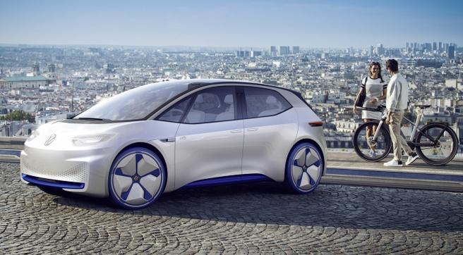 Concept elektrische auto VW