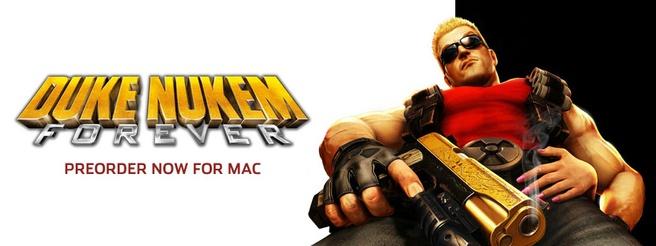 Duke Nukem Forever voor Mac
