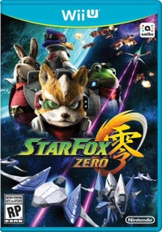 Star Fox Zero box art klein