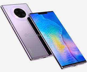 Renders Huawei Mate 30 Pro