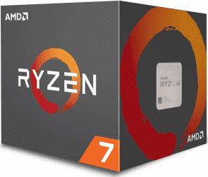 AMD Ryzen 7 2700X Wraith AM4 Boxed