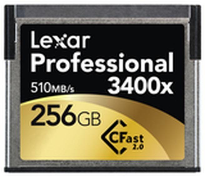 Lexar Professional 3400x CFast 2.0 card