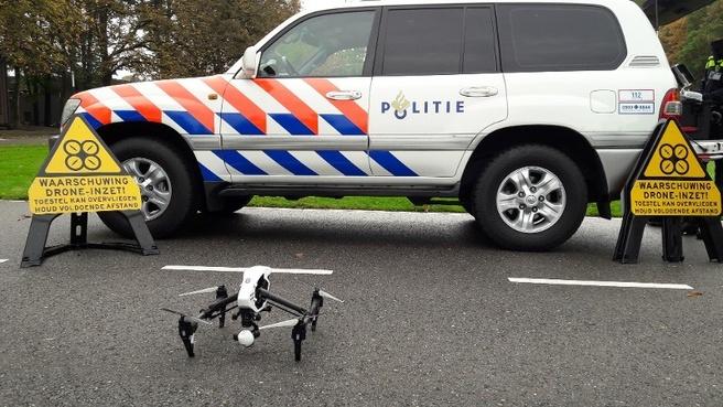 Nederlandse politie drones